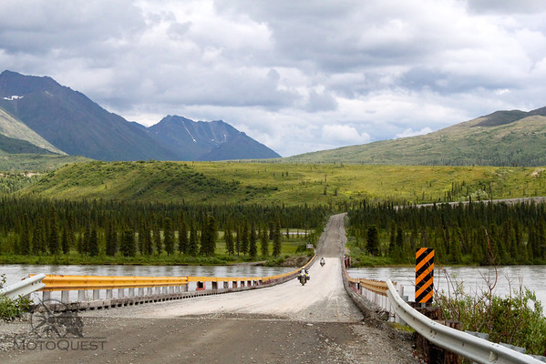 Ride through pristine wilderness and tall mountains on the Denali Highway.