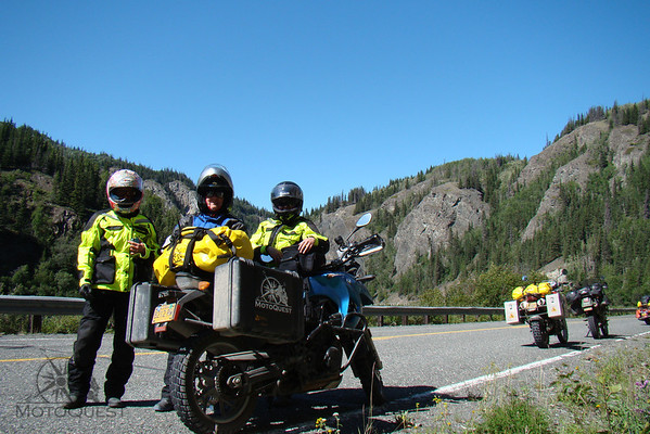 Alaska Ladies Tour Thompson Pass