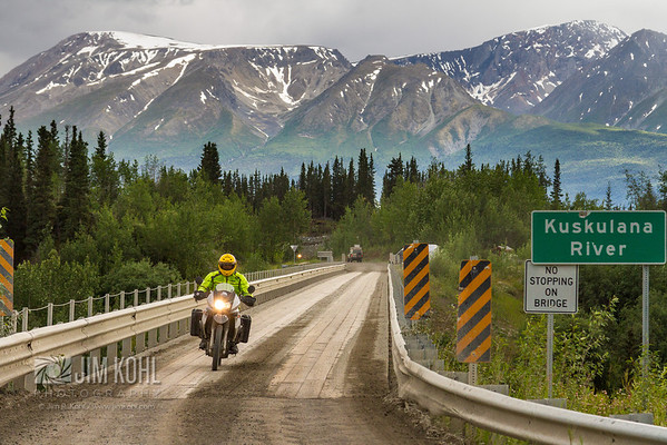 Ride through Wrangell-St. Elias National Park.