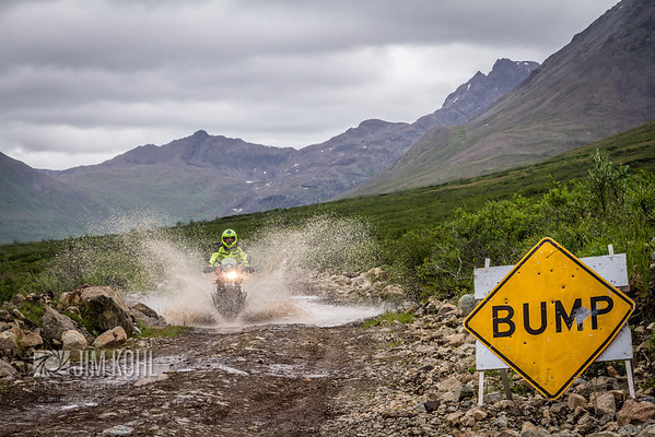Explore the real Alaska during our MotoQuest Camp.