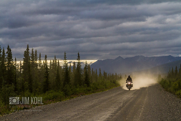 Ride dirt roads that cut through the most unpopulated pristine wilderness on earth.
