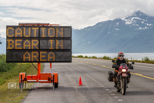 Ride the wilds of Alaska!