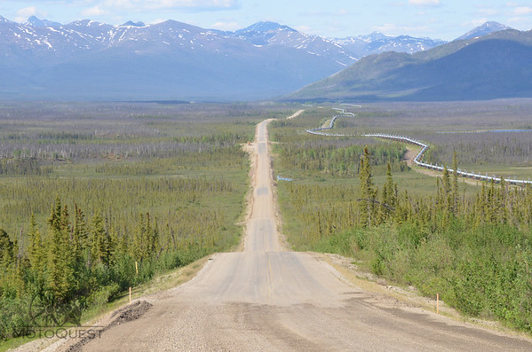 The Dalton Highway will take you to one of the most remote regions in the world.