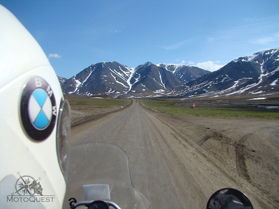 Riding Atigun Pass. There is nothing like being so far removed from the mainstream.