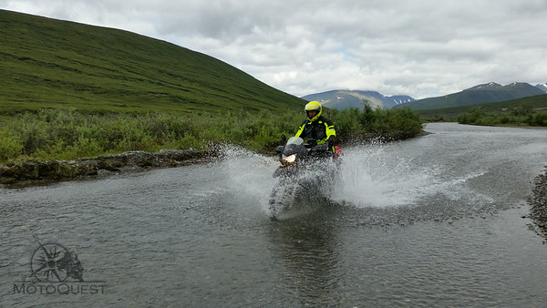 Explore the real Alaska during our MotoQuest Camp