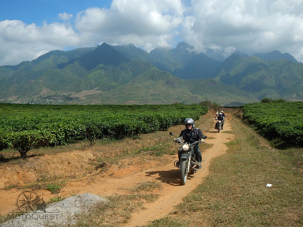 Ride a Ural through Vietnam