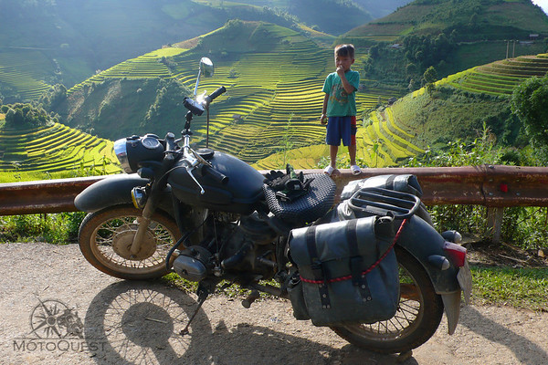 Ride a Ural in Vietnam
