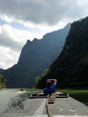 Half-day boat ride through the Nam Ou Gorge