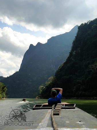Half-day boat ride through the Nam Ou Gorge