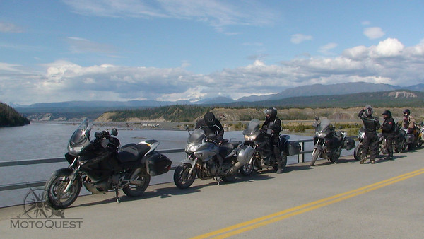 Honda of Canada in Alaska for a Custom Tour with MotoQuest