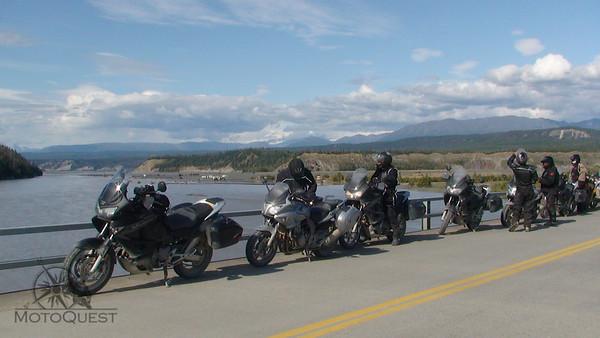 Honda of Canada in Alaska for a Custom Tour with MotoQuest