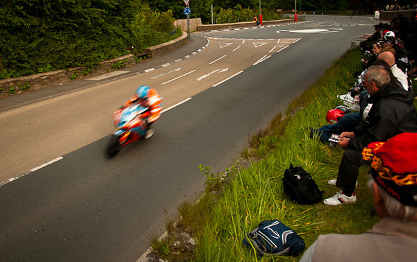 At the Isle of Man, you are not just a spectator, you are part of the action!