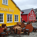 The colourful fishing village Siglufjordur
