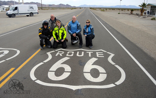 Ride the famous Route 66