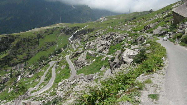 Seemingly endless switchbacks